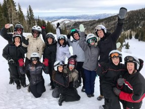 """Snowmobiling tribe 🎄🎉☃️🌨"" - December 23, 2016 courtesy derekhough IG"