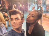 """Kisses from mama @iamjhud are getting me ready for showtime!"" - December 5, 2016 Courtesy garrettclayton1 IG"