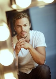 """Dancer, choreographer, singer, leading man, and musician 💥 @DerekHough, photographed for @backstagecast. The Dancing with the stars regular (and regular champion) was Corny Collins in NBC's @HairsprayLive which aired last week. Credits: design and art direction by @simonlcupcake grooming by @jennieredd"" - December 12, 2016 Courtesy stephaniedianiphoto IG"