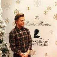 """Oh hi Derek Hough! 👋🏻👋🏻so handsome in @brooksbrothers plaid! 💃🏻📺✨"" - December 3, 2016 Courtesy thesurfreport IG"