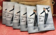 """New Year, New You! Grab a copy of my book ""TAKING THE LEAD:Lessons from a life in motion"" It was an absolute privilege to write and share this with you all. #NewYorkTimesBestSeller"" - January 3, 2017 Courtesy derekhough IG"