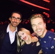 """""""Another pic from last night at the """"WOD"""" #worldofdance Industry Awards with @ekfedosova & @derekhough We were nominated as contributing choreographers in the """"Live Performance on TV"""" category for a segment on #dancingwiththestars."""" - February 7, 2017 Courtesy jordicaballero1 IG"""