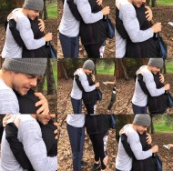 """Just in case you wanted to know what true love looks like. Hahahaha jk but just couldn't stop cracking up that instagram would put the same picture nine times as an option so I had to post it. 😂😂😂 #imnotcrazy @derekhough #moveinteractive #diditakethisjoketoofar"" - February 11, 2017 Courtesy thealexislemos IG"