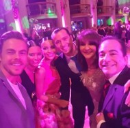 """Thank you to Derek for taking time out of his busy Move tour rehearsals to support The Royal Ball. I felt blessed. He added fun Charm and lots of hugs and smiles shared with all who attended."" - March 18, 2017 Courtesy shirley ballas Facebook"