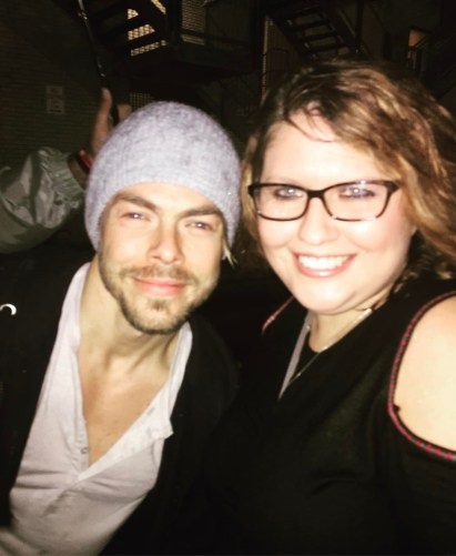 """""""And then you get to meet @derekhough"""" courtesy cassre ig"""