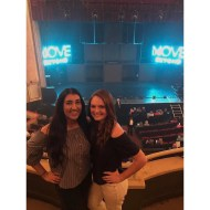 """""""beyond excited to see @juleshough and @derekhough! ❤💃🏽 #movebeyond"""" courtesy priyalulla17 ig"""