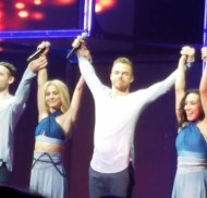 """""""#moveliveontour #movebeyond @juleshough @derekhough"""" - Move Beyond - Rochester, New York - April 26, 2017 Courtesy shannsummers IG"""