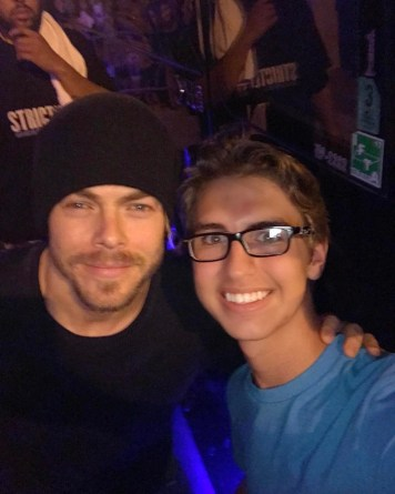 """""""Thanks @derekhough for stopping and taking pictures!! #derekhough"""" courtesy chaseharris99 ig"""