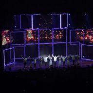 """Show 28 in NOLA ☑️ 📷: @delciebriggs #movebeyond #moveliveontour #movebeyondliveontour #juliannehough #derekhough"" Courtesy delciebriggs ig"