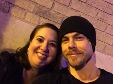 """Just me and @derekhough hanging out at the stage door. 😍😍😍 #ATL #MoveBeyondLive @TheFoxTheatre"" courtesy atleve tw"