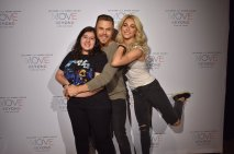 """OMG OMG MY PICTURE IS AMAZING @derekhough @juliannehough ❤️❤️❤️"" - Move Beyond - New York - May 6, 2017 Courtesy alrenjaurnandez twitter"