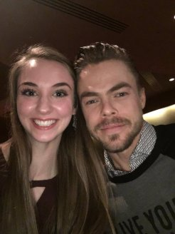 """The loves of my life....❤️❤️ We are now besties forever @derekhough @juliannehough @MoveLiveOnTour #moveliveontour #bestnightEVER"" - Move Beyond - Durham, North Carolina - May 9, 2017 Courtesy briannarenalive twitter"