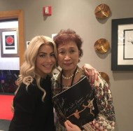 """""""@juleshough is even more beautiful and lovely in person. Really enjoyed meeting her. Here she is with Mom! #movebeyond #movebeyondliveontour #movebeyondtour #juliannehough #mohegansun"""" - Move Beyond - Uncasville, Connecticut - April 30, 2017 Courtesy lawgirl246 IG"""