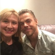 """""""😍😍😍 I know he has to be nice but I think that both Derek and Julianne are genuine. #movebeyond #movebeyondliveontour #derekhough"""" - Move Beyond - Uncasville, Connecticut - April 30, 2017 Courtesy lawgirl246 IG"""