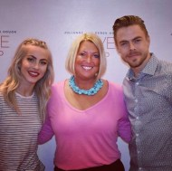 """""""Thank you @derekhough and @juleshough for another fun night! This was my 3rd Move Tour! #movebeyond #derekhough #juleshough #derekwearsashirt #movebeyondtour"""" - Move Beyond - Durham, North Carolina - May 9, 2017 Courtesy lightscmemories IG"""