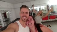 """""""@derekhough last night show was amazing!!! Thank you for an amazing performance! You and your sister are amazing!!"""" - Move Beyond - Durham, North Carolina - May 9, 2017 Courtesy Wolfgirl4vr twitter"""