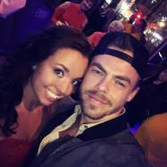 """This happened.... It's not everyday you get to selfie with the one and only Derek Hough ❤️ Such a sweet & humble person. I'm so glad I got to meet him &+ Julianne of course 😍💗"" Courtesy tanbrunettexo ig"