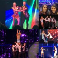 """Last night was absolutely AMAZING!! @twiceasnice_christina and I had the best time watching @juleshough and @derekhough dance last night. They are truly our inspirations!!! #movebeyondliveontour #movebeyond"" Courtesy twiceasnice_rebekah ig"