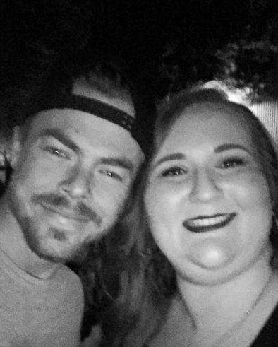 """Tonight I met this amazing man who inspires so many people (myself included) to do what they love and are passionate about. I can't thank you enough for being the advocate that you are for the arts and performers world wide. Thank you @derekhough for a phenomenal performance and for being so kind and caring to your fans. Much love! ❤️❤️❤️ #MoveBeyondLiveOnTour #MotionEqualsEmotion #Sacramento #ItHadToBeYou #WorldWideInspiration"" Courtesy stephanieupton13 ig"