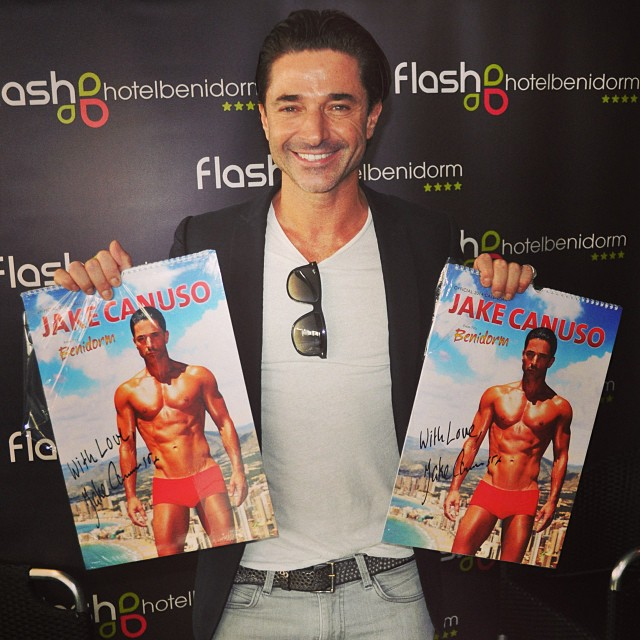 Jake Canuso at Hotel Flash today - from Instagram