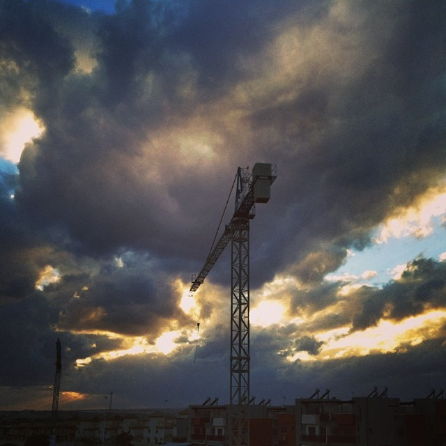 Storm clouds, Torrevieja - from Instagram