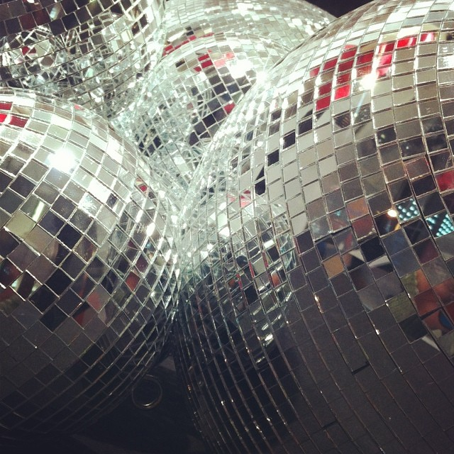 Mirror balls - from Instagram