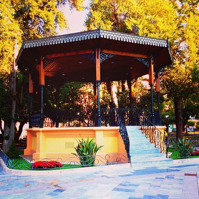 Bandstand, Orihuela - from Instagram