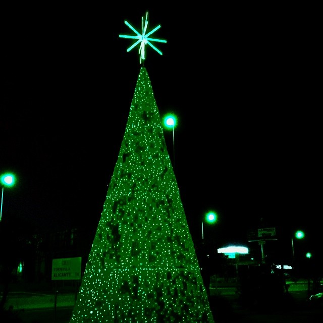 Orihuela Costa Xmas Tree - from Instagram