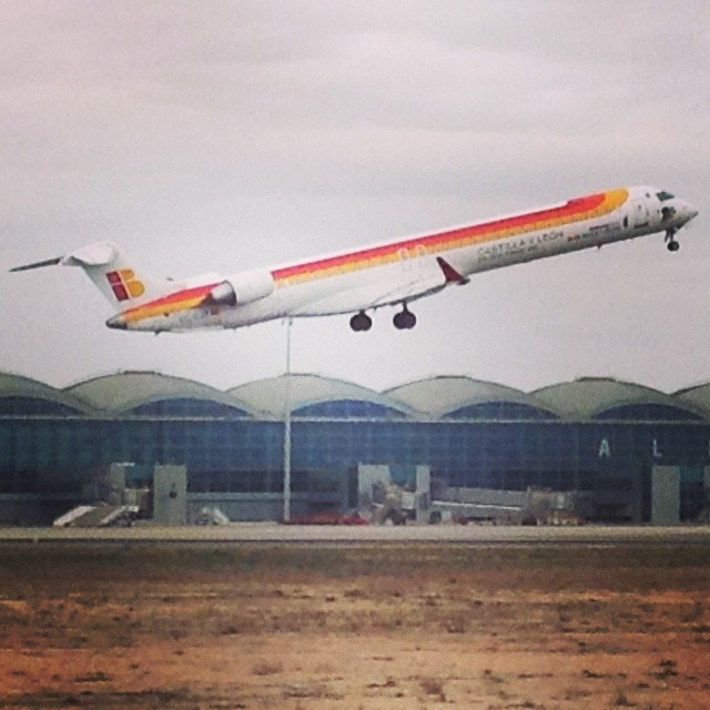 Alicante airport - from Instagram