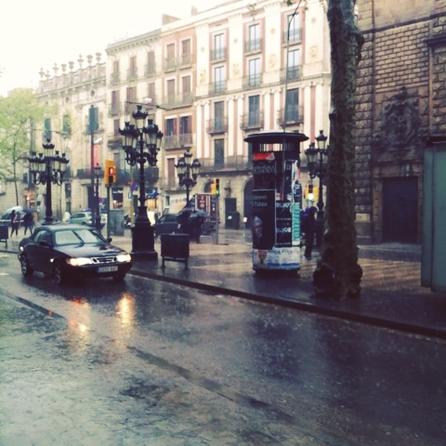 Rain / lluvia - from Instagram