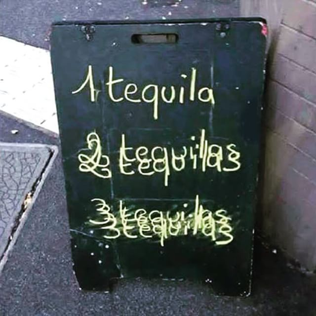 Tequila - from Instagram