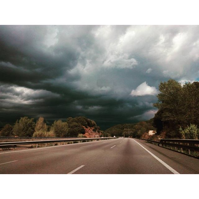 The rain in Spain is about to fall on the AP7 - from Instagram
