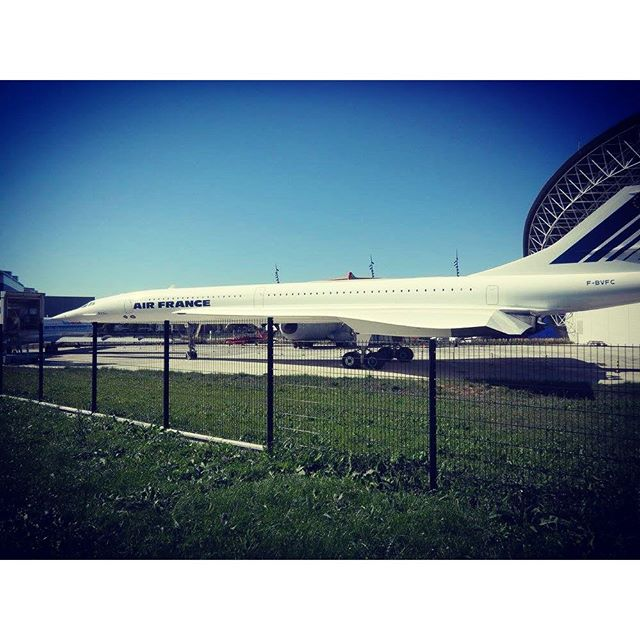 #Concorde #airfrance - from Instagram