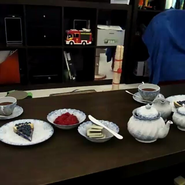 Just having high tea and this happens!!! - from Instagram