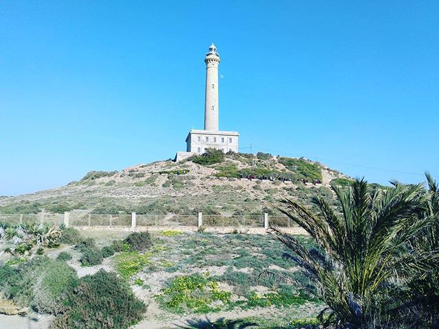 #autohash #CabodePalos #Spain #RegióndeMurcia #architecture #travel #traveling #visiting #instatravel #instago #sky #ancient #tower #outdoors #tourism #building #landscape #old #landmark #tree #city #nature #summer #hill #historic #monument #stone #lighthouse #faro - from Instagram