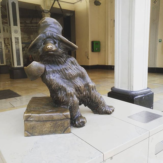 #paddingtonbear #london #autohash # #UnitedKingdom #England #sculpture #mammal #museum #architecture #statue #art  #daylight #people #travel #traveling #visiting #instatravel #instago #religion #city #building #furniture - from Instagram