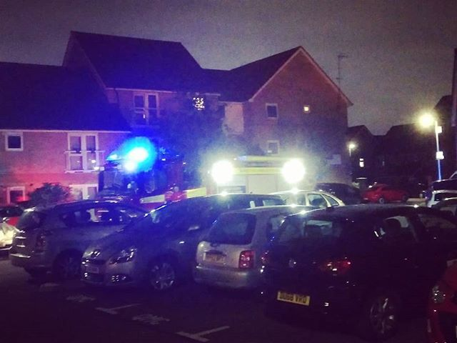 Our flats fire alarm has gone off!!! - from Instagram
