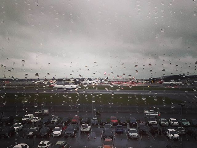 Last day of our holiday and the sky is crying. - from Instagram
