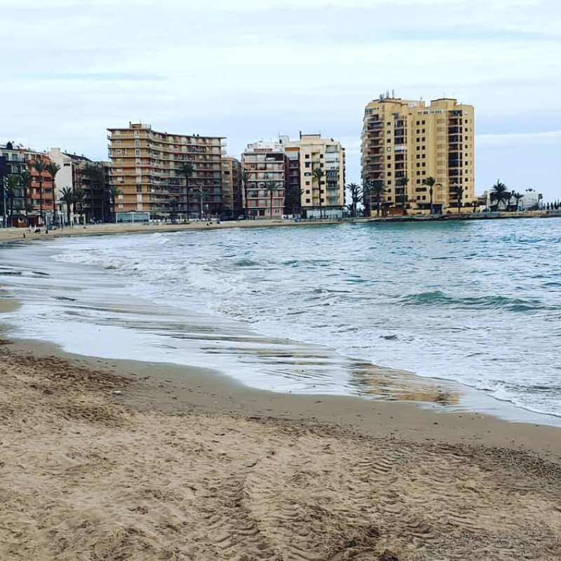 #autohash #Torrevieja #Spain #ComunidadValenciana #beach #seashore #sea #sand #water #panoramic #city #travel #traveling #visiting #instatravel #instago #sky #tourism #wave #outdoors #ocean #nature #landscape #tide #shore #panorama #vacation - from Instagram