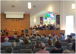 the WFPC choir, choiring