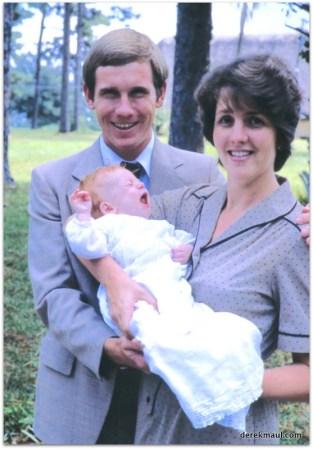 Derek, Rebekah, Andrew - 1982