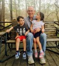 grandaddy with David and Beks