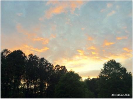 sunset at WFPC