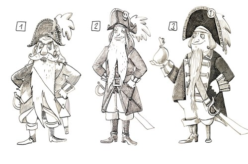 PirateCaptainSketches