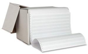 green-bar-paper