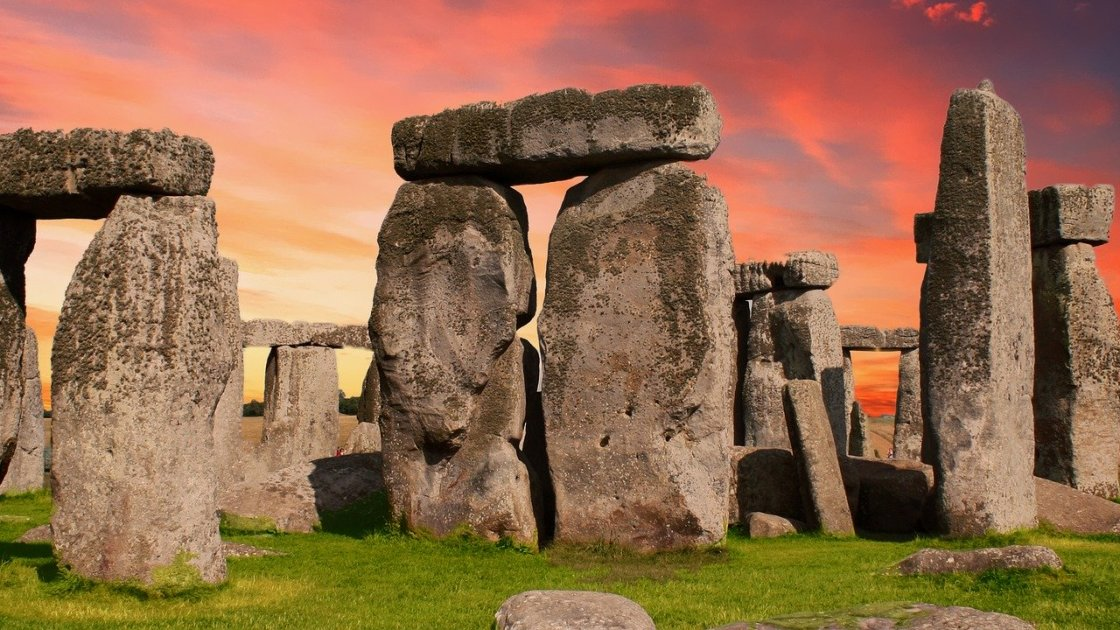 Die magische Welt: hier der Steinkreis von Stonehenge