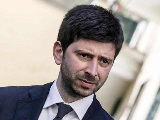 Roberto Speranza, capogruppo del Pd alla Camera, nello Speaker's Corner di DeRev