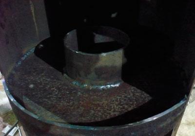 A gázhenger kemence gyártásának technológiai folyamata