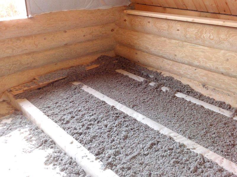 Bodenisolation umweltfreundlich