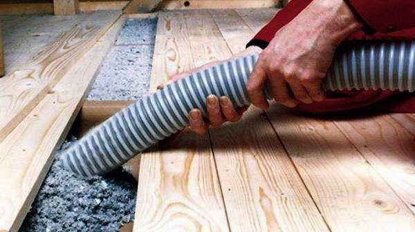 Heal insulation in a private house do it yourself on the old floor